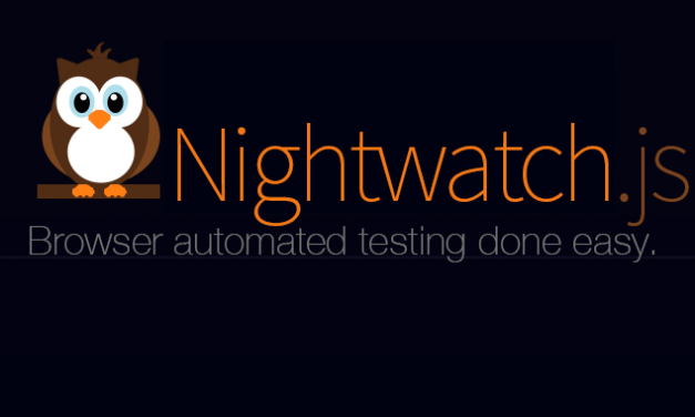 Getting Started with Nightwatch JS – Installation